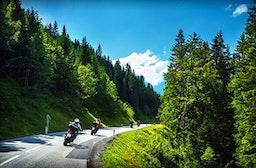 Motorradtour in der Sächsischen Schweiz