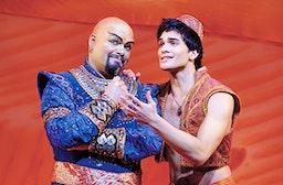 Musical Aladdin & Dinner Stuttgart für 2