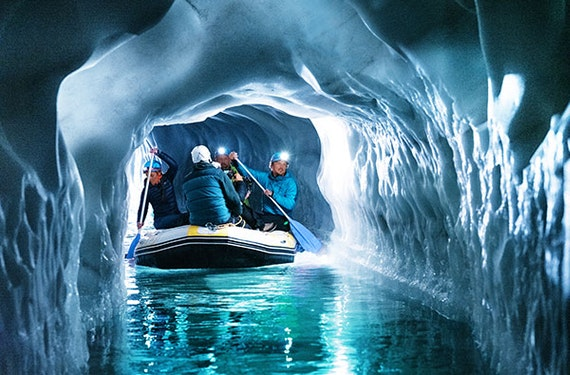 Erlebnistour Natureispalast Hintertuxer Gletscher