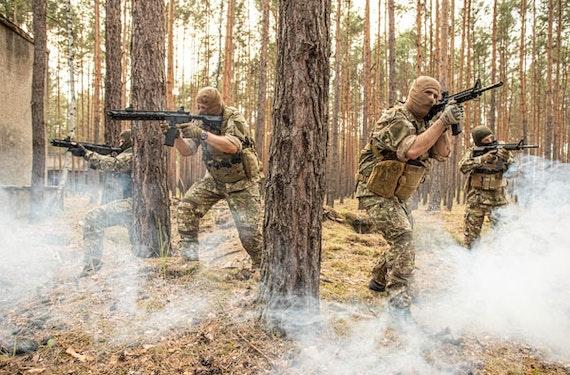 Navy SEAL Training in Strausberg