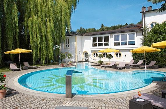 Wellness-Urlaub in der Junior Suite in Passau für 2