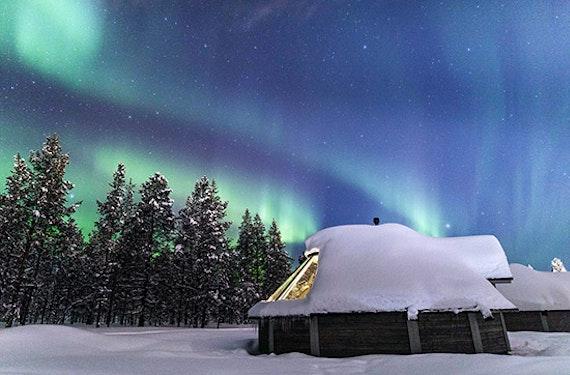 Romantischer Nordlichter-Kurzurlaub in Lappland für 2