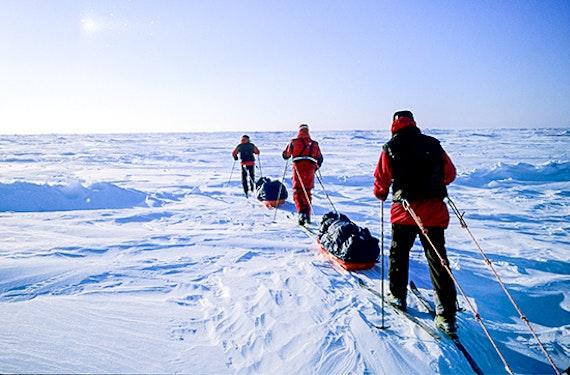 Expedition zum Nordpol mit Borge Ousland