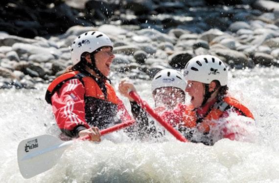 Rafting, Mega Swing & Flying Fox im Ötztal