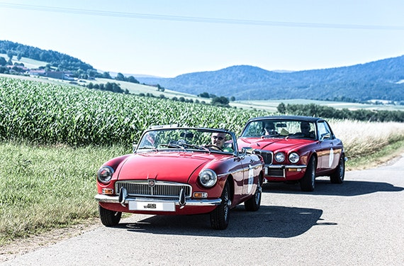 Oldtimer Rallye in Neukirchen b. hl. Blut für 2 (3 Tage)