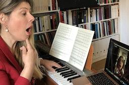 Online-Seminar Gesangsstunde (45 Minuten)