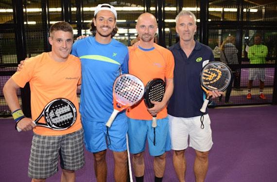 Padel Tennistraining für bis zu 4 Personen