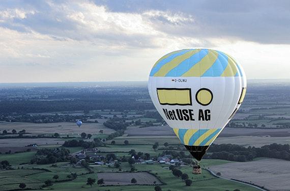 Pärchen-Ballonfahrt