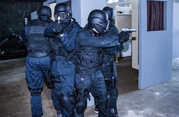 Paintball SWAT-Einsatz in Hagen