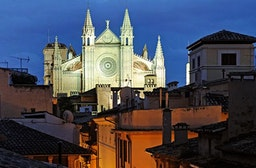 Stadtführung durch Palma de Mallorca bei Nacht für 2