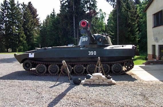 Panzerhaubitze selber fahren im Harz