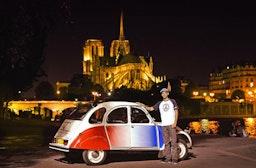 Paris Nachttour in der Ente für 2