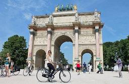 Sightseeing-Radtour durch Paris