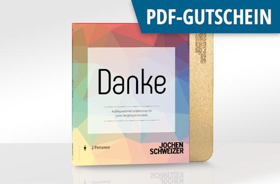 Erlebnis-Box 'Danke' als PDF