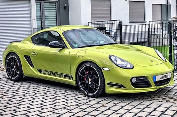 Porsche Cayman R fahren