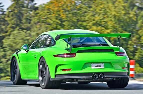 Porsche 911 Renntaxi auf der Nordschleife