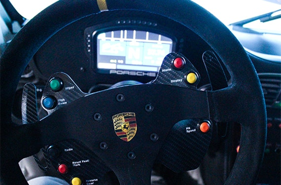 Porsche 911 GT3 Cup Rennsimulator in Berlin (30 Min.)