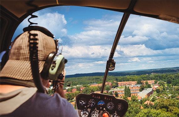 Schlösser-Rundflug im Hubschrauber über Potsdam