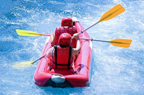 Power-Rafting bei Kiefersfelden