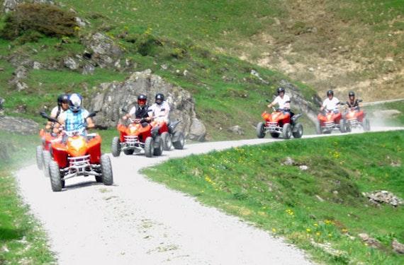 Quad-Tour mit BBQ Interlaken