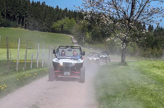 Quad Side by Side Einsteigertour im Schwarzwald
