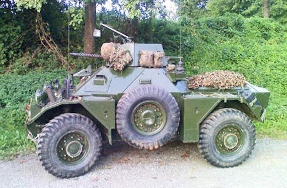 Radpanzer selber fahren