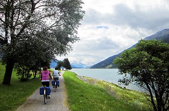 Radreise auf dem Etsch-Radweg für 2 (6 Tage)