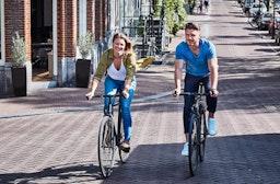 Sightseeing-Radtour durch Amsterdam für 2