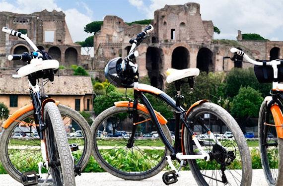 Sightseeing Radtour in Rom