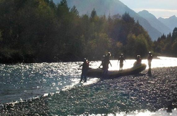 Rafting Tour für 2 in Schneizlreuth (1/2 Tag)