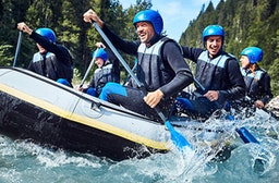 Rafting Tour in Schneizlreuth (1/2 Tag)