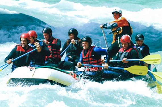 Einsteiger-Rafting-Tour im Allgäu für 2