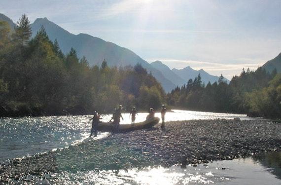 Einsteiger-Rafting-Tour im Allgäu