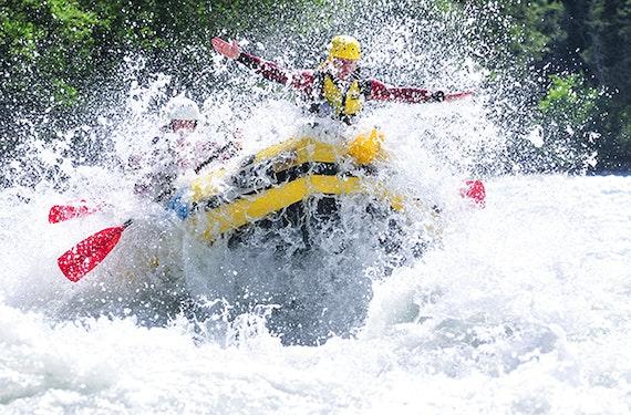 Rafting und Canyoning in der Imster Schlucht