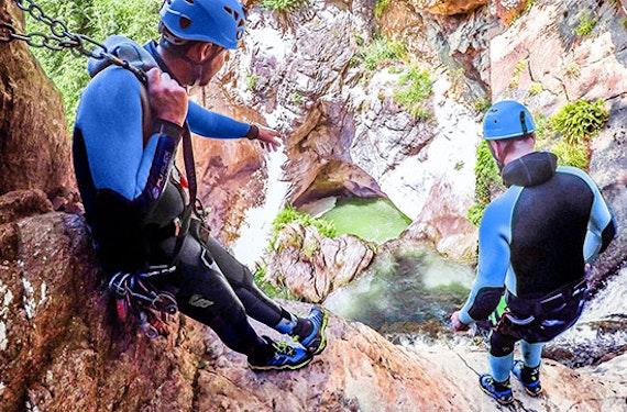 Rafting- & Canyoning-Tag in Tirol