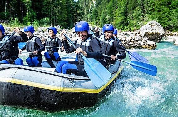 Rafting & Canyoning mit 2 Übernachtungen im Ötztal für 2