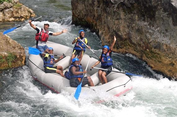 Rafting in Süd-Kroatien