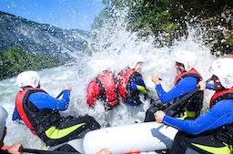 Rafting und Klettersteig Imster Schlucht Sautens