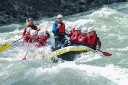 Rafting Ötztal – Imsterschlucht