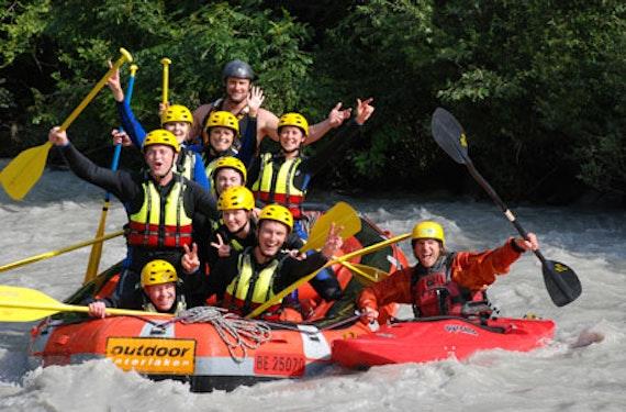Rafting Tour Schweiz (1/2 Tag)