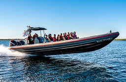 1050 PS Power-Schlauchboot fahren Raum Insel Fehmarn