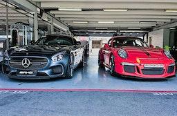 Porsche GT3 & Mercedes AMG GT-S Nordschleifen-Renntaxi