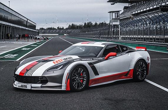Renntaxi Corvette (4 Rdn.)