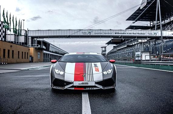 Renntaxi Lamborghini Huracán (4 Rdn.)