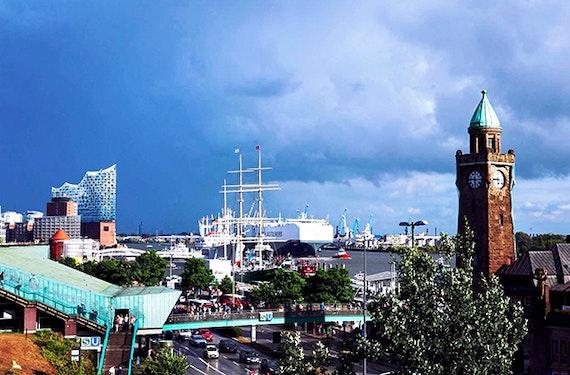 Rikscha Tour in Hamburg für 2
