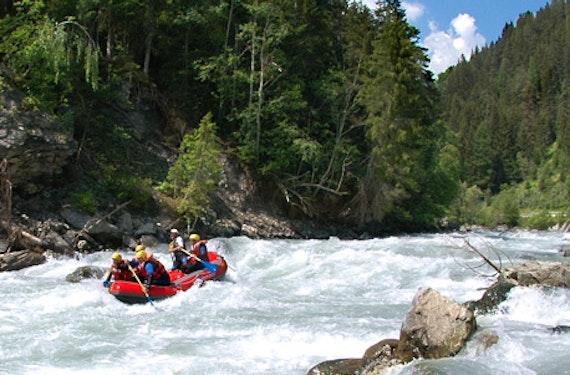 River Rafting im Engadin (1 Tag)