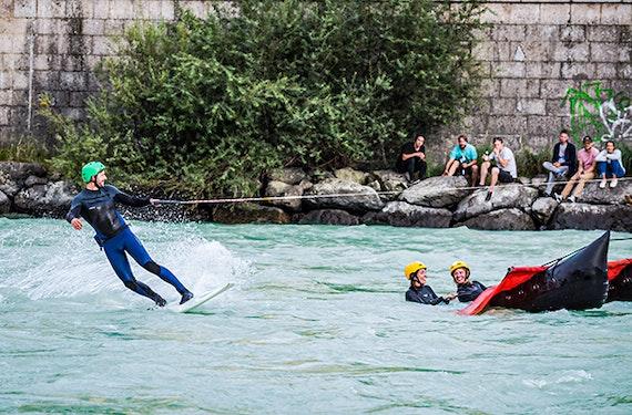 River Surfing in Innsbruck (Anfänger)