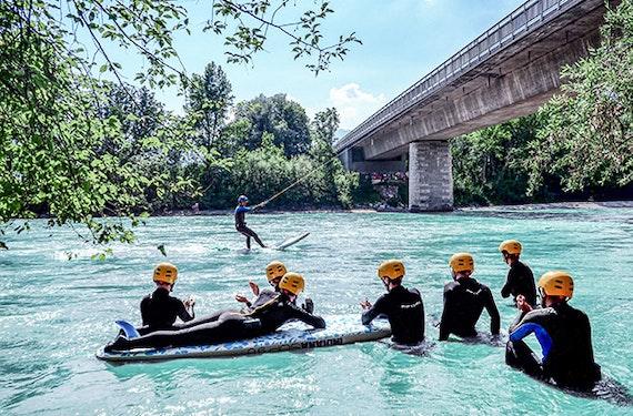 River Surfing in Innsbruck – Fortgeschrittene Session