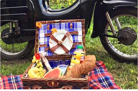 Roller mieten mit Picknick in Leipzig (1 Tag)