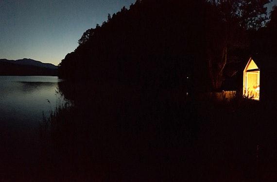 Nacht unter dem Sternenhimmel am Millstätter See für 2